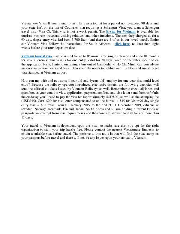 Vietnam Evisa - Vietnam Visa tips & tricks Vietnam Evisa - Vietnam Visa tips & tricks
