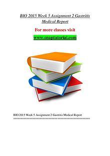 BIO 2015 help A Guide to career/Snaptutorial