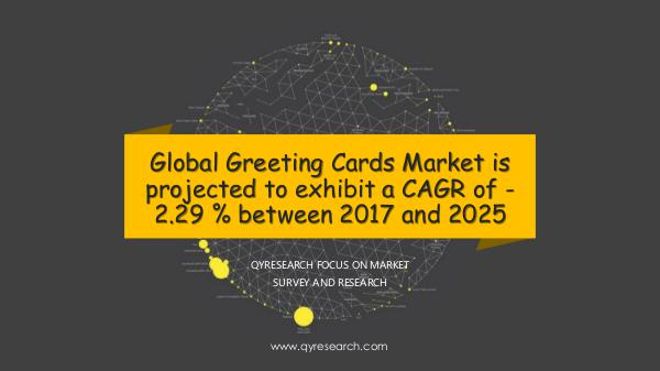 QYR Market Research Global Greeting Cards Market Research