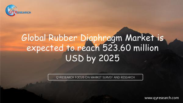 QYR Market Research Global Rubber Diaphragm Market Research