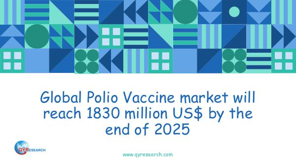 QYR Market Research Global Polio Vaccine market research