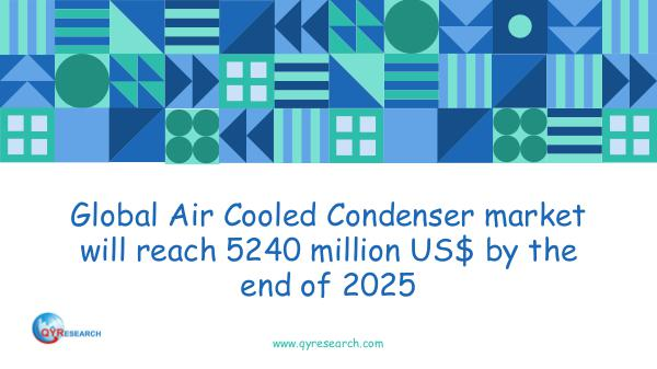 QYR Market Research Global Air Cooled Condenser market research