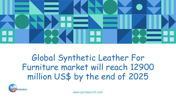 QYR Market Research Global Synthetic Leather For Furniture market