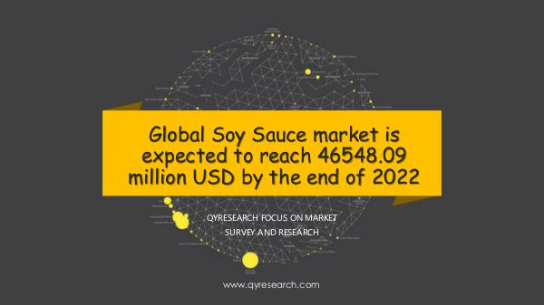 QYR Market Research Global Soy Sauce market research
