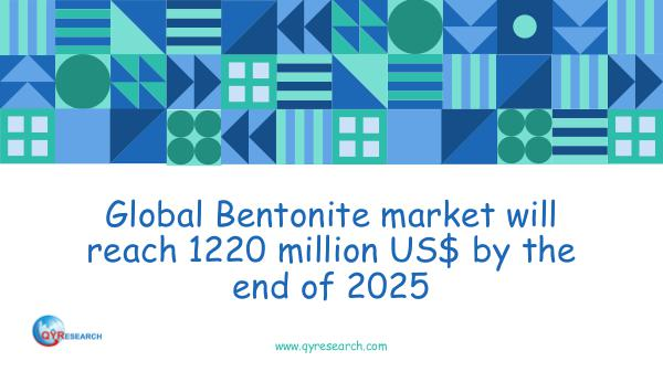 QYR Market Research Global Bentonite market research report