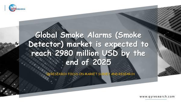 QYR Market Research Global Smoke Alarms (Smoke Detector) market