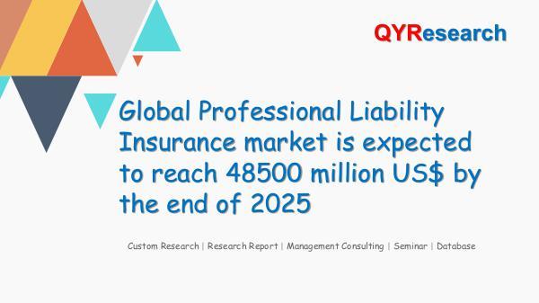 QYR Market Research Global Professional Liability Insurance market