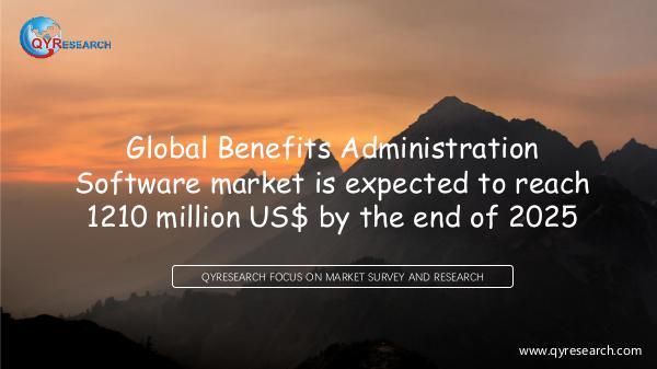 QYR Market Research Global Benefits Administration Software market