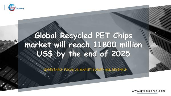 QYR Market Research Global Recycled PET Chips market research
