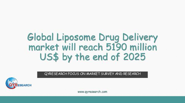 QYR Market Research Global Liposome Drug Delivery market research