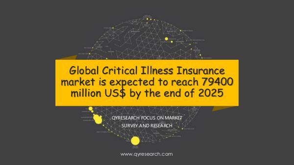 QYR Market Research Global Critical Illness Insurance market research