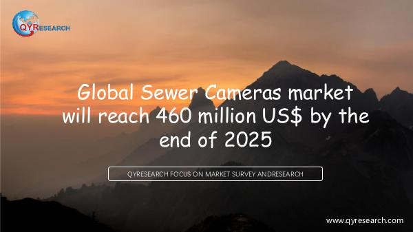 QYR Market Research Global Sewer Cameras market research