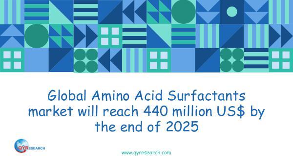QYR Market Research Global Amino Acid Surfactants market research