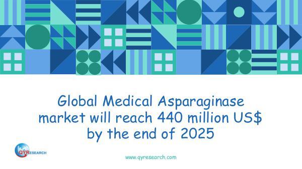 QYR Market Research Global Medical Asparaginase market research