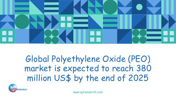 QYR Market Research Global Polyethylene Oxide (PEO) market research