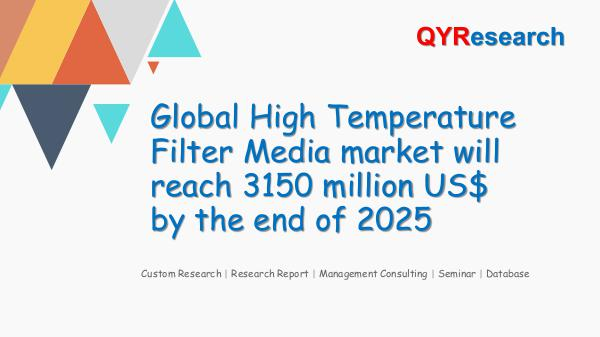QYR Market Research Global High Temperature Filter Media market