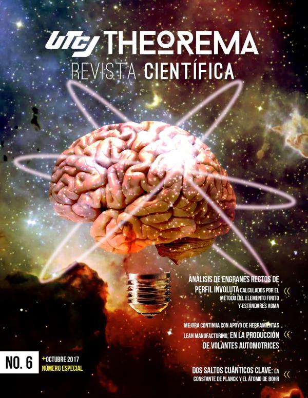 UTCJ THEOREMA  Revista científica Theorema 6ta edición especial