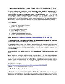 Transformer Monitoring System Market worth 2.68 Billion USD by 2021