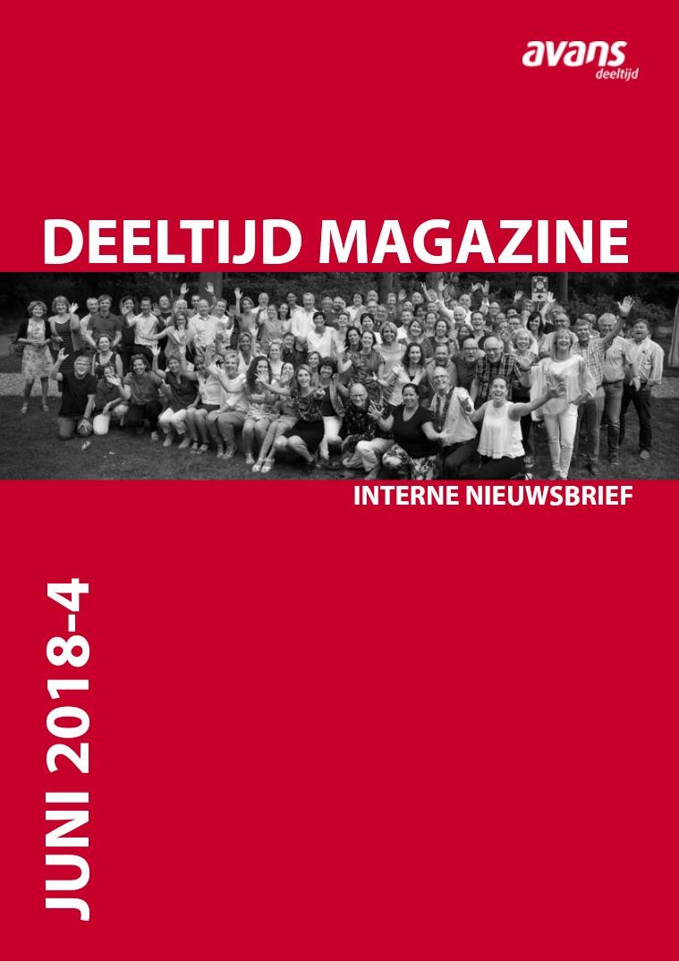 Avans Deeltijd magazine Juni 2018