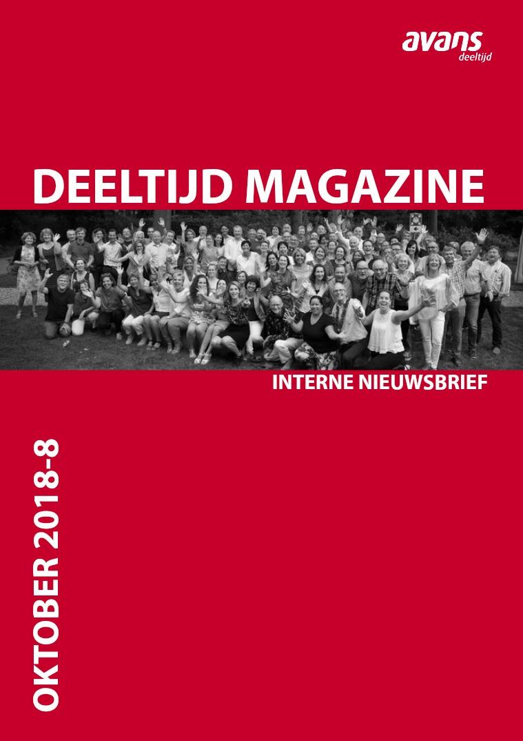 Avans Deeltijd magazine Oktober 2018