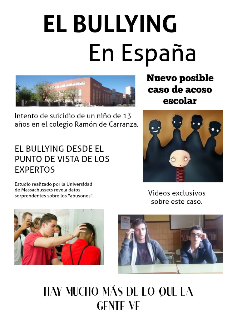 El Bullying en España Bullying Lengua