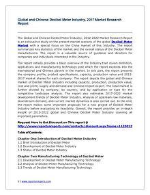 2017 Decibel Meter Industry Report