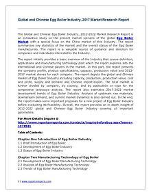 Global Egg Boiler Industry Analyzed in New Market Report