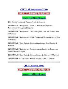 CIS 331 RANK creative knowledge /cis331rank.com
