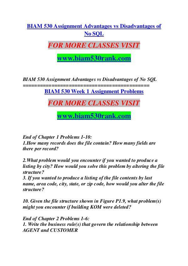 BIAM 530 RANK Great Stories Here/biam530rank.com BIAM 530 RANK Great Stories Here/biam530rank.com
