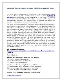 Digital Level Industry Trends and 2022 Forecasts for Global and Chine