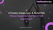 Aerial Pole Dance Fitness Equipment for Home Self Expression