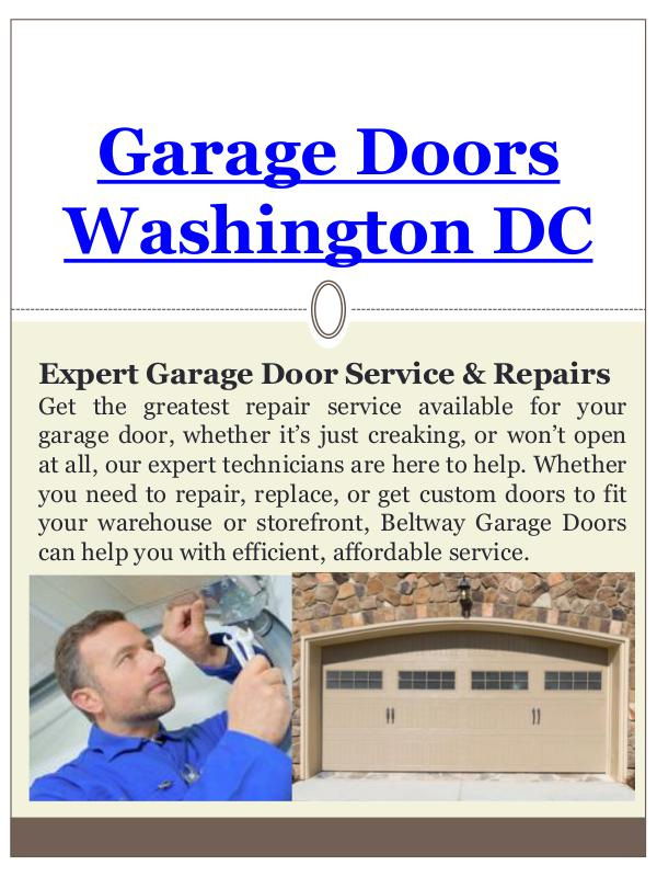 Garage Door Replacement Washington DC Garage Door Replacement Washington DC