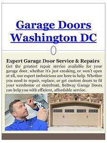 Garage Door Replacement Washington DC
