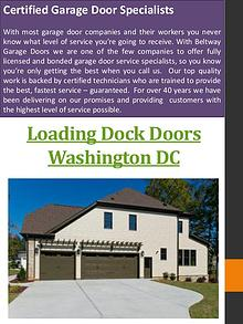 Dock Leveler Washington DC
