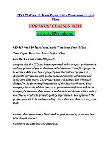 CIS 429 RANK creative knowledge /cis429rank.com