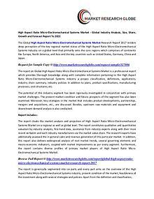 High Aspect Ratio Micro-Electromechanical Systems Market - Global