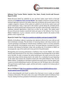 Influenza Virus Vaccine Market Analysis