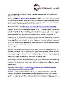 High Pressure Waterjet Machine Market Growth, Size, Trends