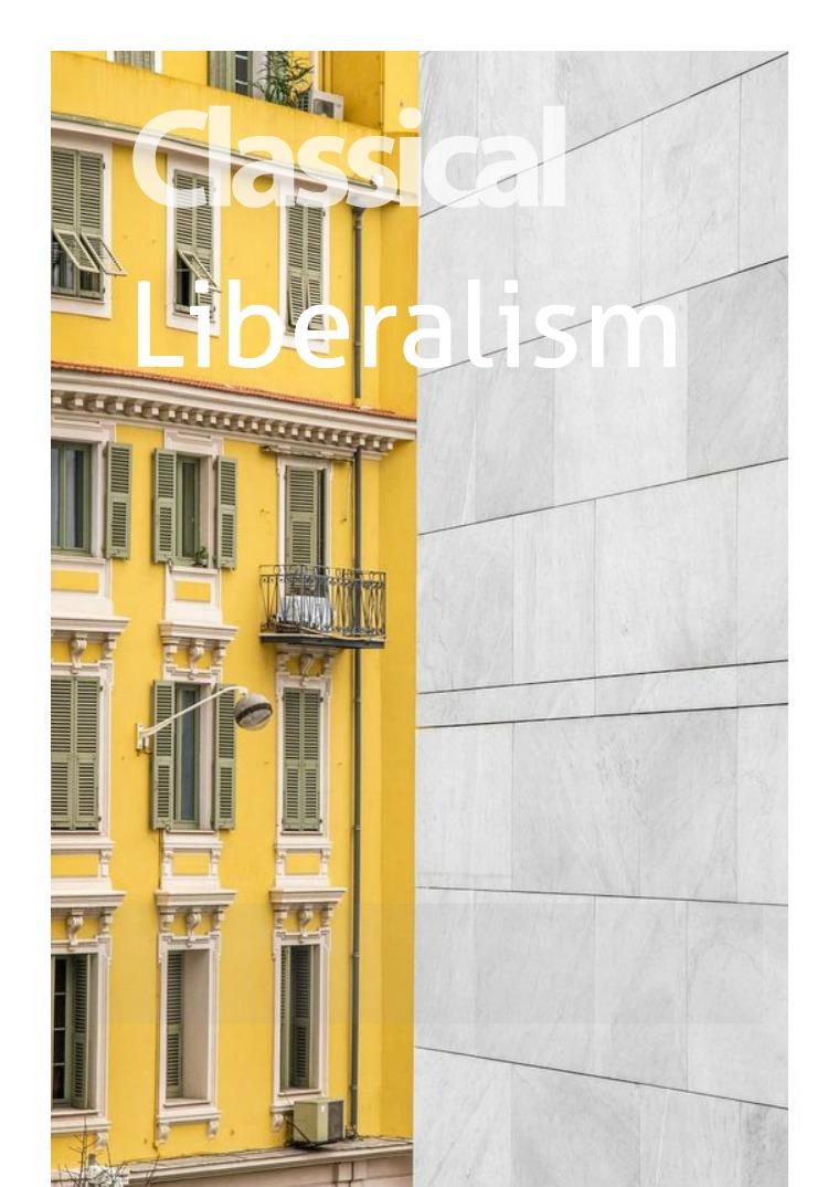 My first Magazine named Liberalism