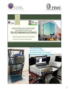 promoción a Maestría en Ingeniería Orientación en Telecomunicaciones