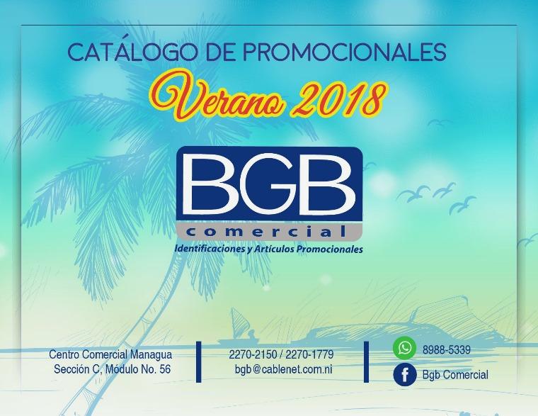 Catálogo Verano 2018 CATALOGO VERANO 2018