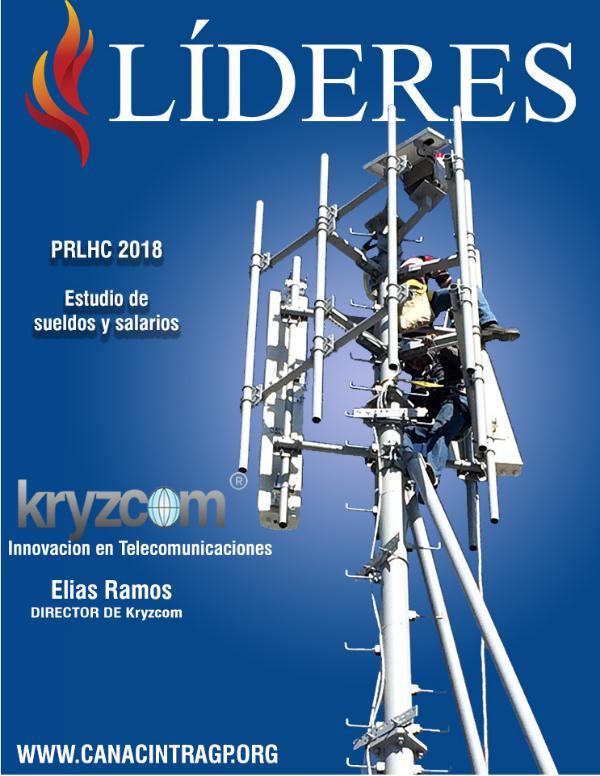 Revista Lideres Canacintra Gómez Palacio  novena°