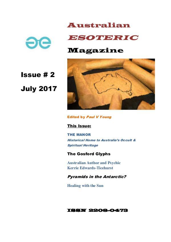 Australian Esoteric Australian Esoteric Issue 2