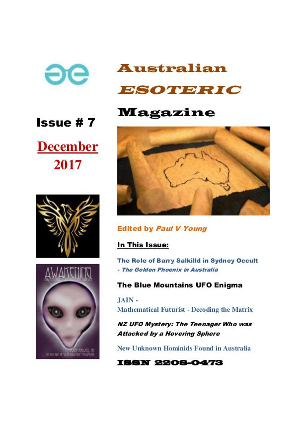 Australian Esoteric Issue 7