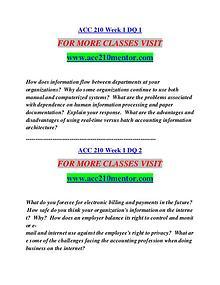 ACC 210 MENTOR Motivated Minds/acc210mentor.com