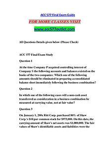 ACC 577 OUTLET Motivated Minds/acc577outlet.com