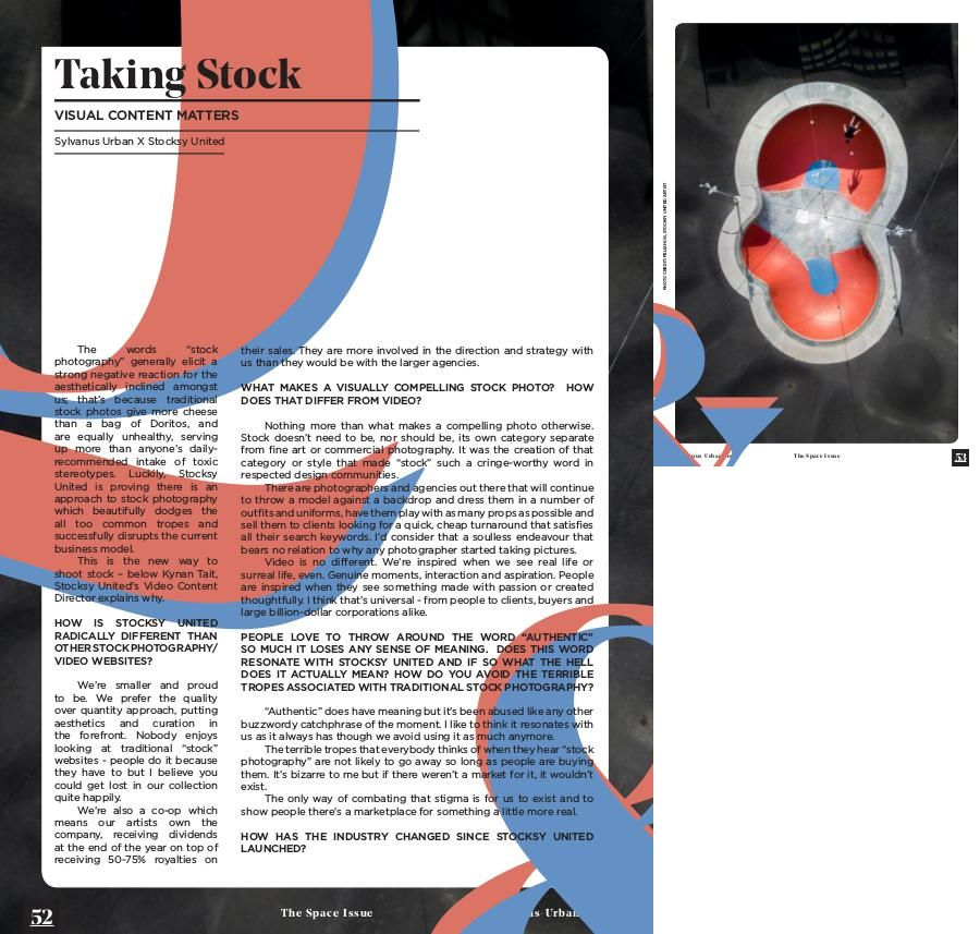 SYLVANUS URBAN Sylvanus Urban - The Space Issue - Page 52
