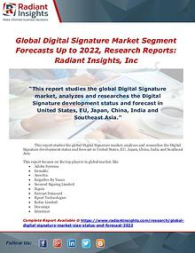 Market Forecasts and Industry Analysis