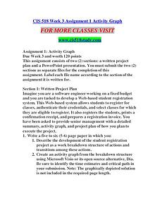 CIS 518 STUDY creative knowledge /cis518study.com