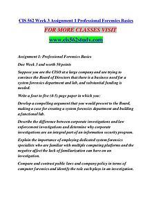 CIS 562 STUDY creative knowledge /cis562study.com